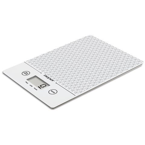 Bilancia Da Cucina Elettronica Digitale Nera 5kg Funzione Touch Nero
