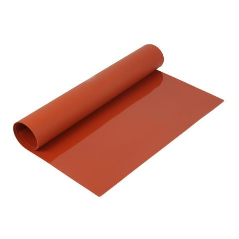 Silikomart Tappetino Silicone Rosso 40X60 cm