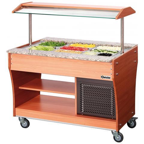 125507 Carrello Buffet refrigerato GN 3 x 1/1 236W