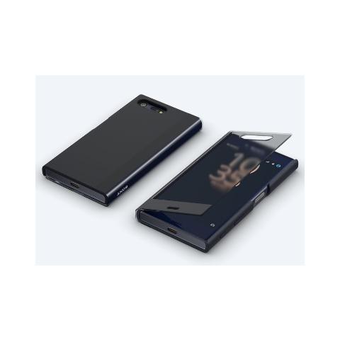 SONY Style Cover Touch Universe nero per Xperia X Compact