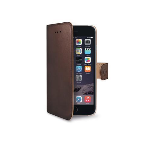 CELLY Custodia Wally per iPhone 6 Plus Colore Marrone