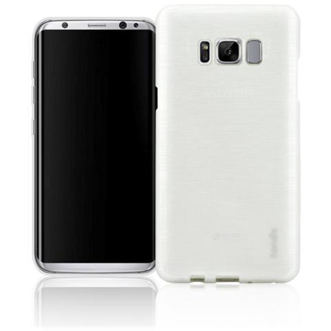 FONEX Cover in TPU per Galaxy S8 Plus Bianco