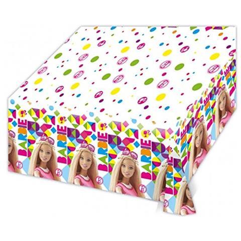 Barbie Tovaglia Plastica Barbie, Festa Compleanno Ps 06703