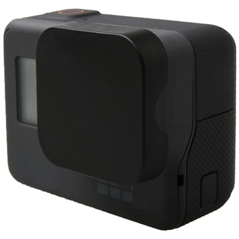 NetworkShop Tappo Nero Di Protezione Lente Ottica Per Camera Gopro Hero 5 Black