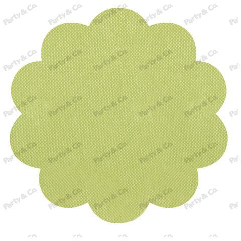 Conf. 10 Rosoni Tnt Cm 40 Verde Lime