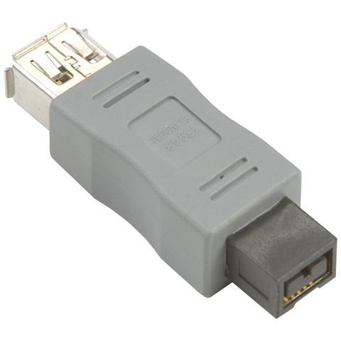 BANDRIDGE BCK600 FireWire 6-pin M - FireWire 6-pin M 2x FireWire 4-pin M - FireWire 6-pin FM, 1x FireWire 9-pin M - FireWire 6-pin FM Grigio cavo di interfaccia e adattatore
