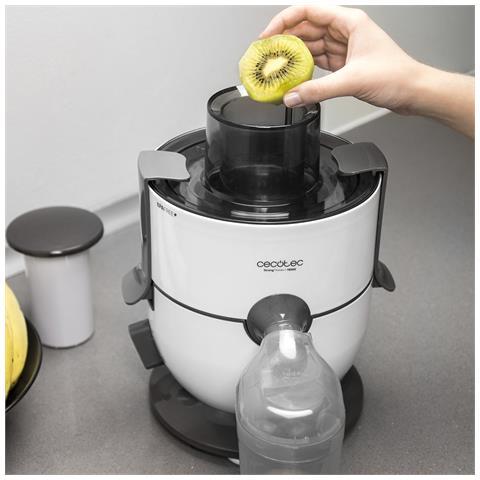 Estrattore di succo per frutta e verdura, 650w potenza massima