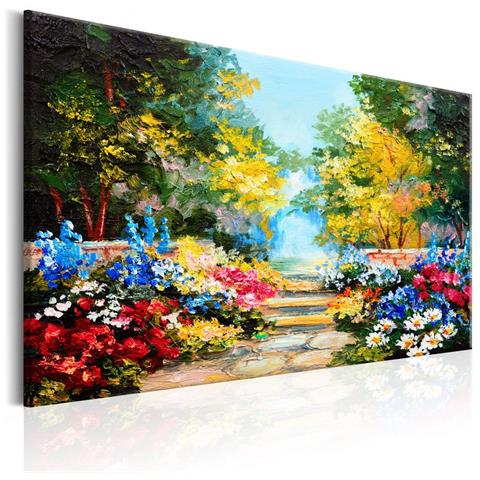 Quadro The Flowers Alley