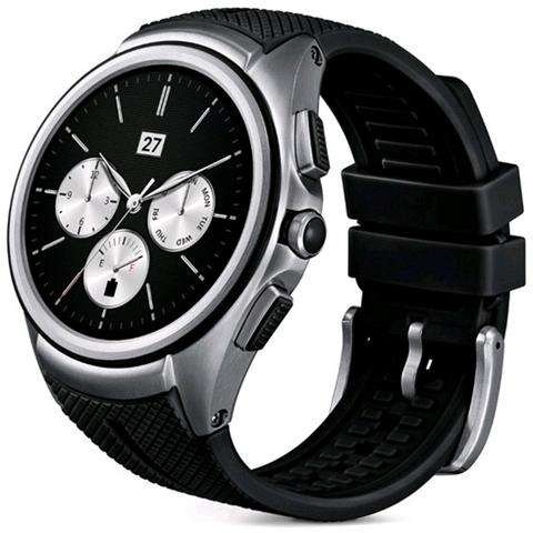 """LG Smartwatch Urbane 2nd Edition Resistente all'acqua IP67 Display 1.38"""" 4GB con Bluetooth e Wi-Fi Colore Nero - Italia"""