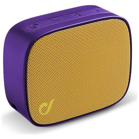 CELLULAR LINE Mini Speaker Bluetooth 4 Viola / Gial