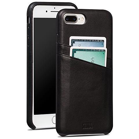SENA Cases iPhone 7 Plus Snap On Wallet nero