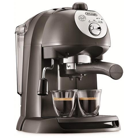 Macchina Caffè EC201CD. B Cialde e Polvere 1050 W 1 Litro Colore Nero / Silver