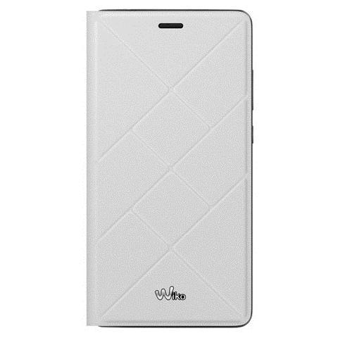 WIKO Flip Cover Custodia per Pulp 4G - Bianco