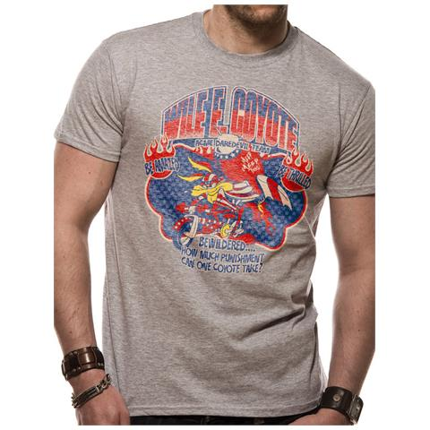 CID Looney Tunes - Wile E Coyote (T-Shirt Unisex Tg. S)
