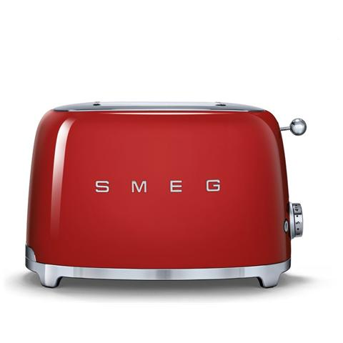 TSF01RDEU Tostapane Estetica Anni '50 Colore Rosso