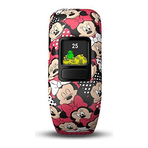 GARMIN Vivofit Junior 2 in Silicone Impermeabile Bluetooth Compatibile con iOS Android Contapassi Contacalorie Multicolor