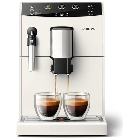Macchina da Caffè Espresso Automatica 3000 Series Serbatoio 1.6 Lt. Potenza 1850 Watt Colore Bianco
