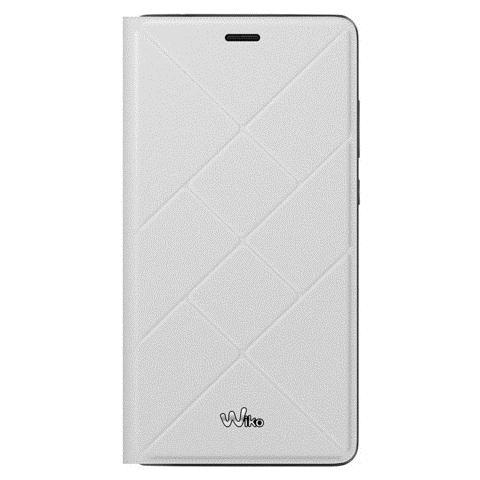 WIKO Flip Cover Custodia per Pulp Fab 4G - Bianco