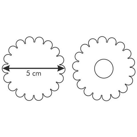 Tagliabiscotti C / estrattore 5cm Delicia