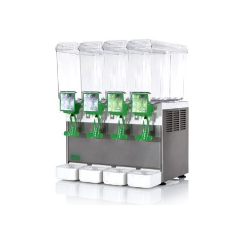 Distributore Bevande Fredde 4 Vasche Litri 8 Bras Rs0820