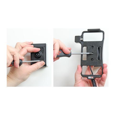 BRODIT 512696 Auto Active holder Nero supporto per personal communication