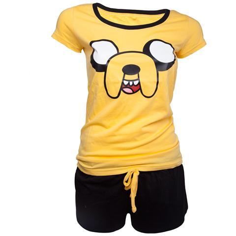 BIOWORLD Adventure Time - Jake Shortama (Pigiama Donna Tg. XL)