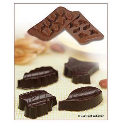 Silikomart Stampo cioccolato nature easy choc 35x30mm h. 16mm 112.5ml silicone