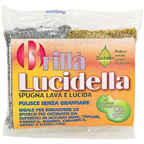 LA BRIANTINA Spugne Lucidella 2 Pezzi