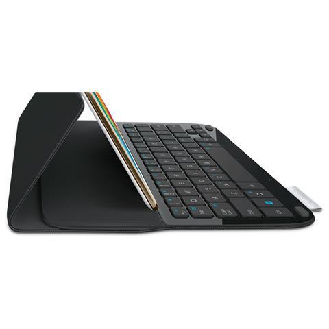 Image of 920-006408 Bluetooth QWERTY Spagnolo Nero tastiera per dispositivo mobile
