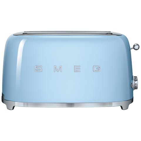 Image of TSF02PBEU Tostapane 4 Fette Estetica Anni '50 Colore Azzurro