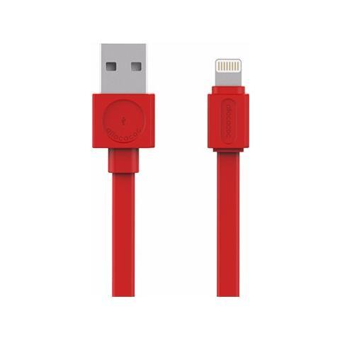 ALLOCACOC Cavo di Ricarica USB / Lightning Colore Rosso