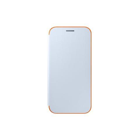 SAMSUNG Neon Flip Cover Custodia per Galaxy A5 2017 - Blu