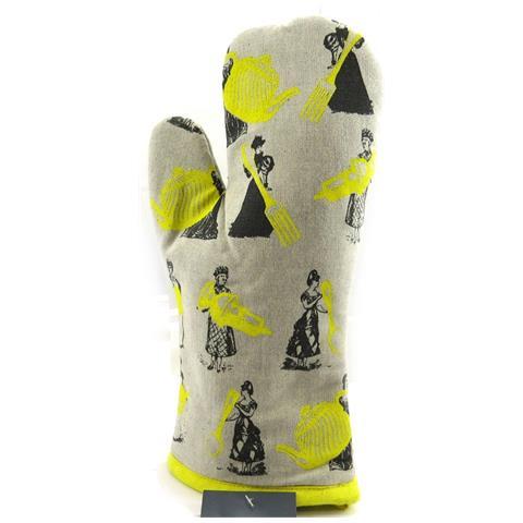Les Trésors De Lily mitt 'belle epoque' talpa giallo - [ l4241]