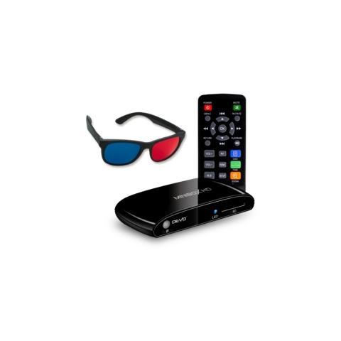 minibox hd mediaplayer full hd 1080p con occhiali 3d inclusi - hdmi / usb / card reader