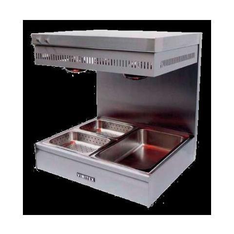 Scalda Riscalda Fritti Patate Vivande Cm 70x60x75 Rs1817