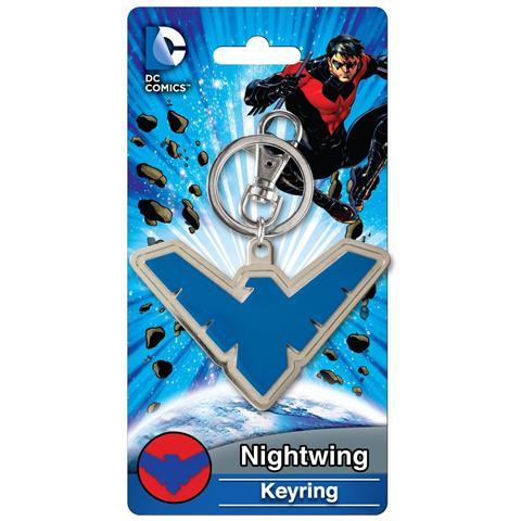 TimeCity Nightwing - Emblem Pewter (Portachiavi)