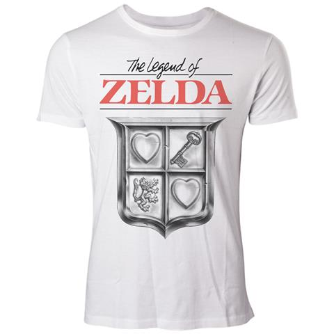 BIOWORLD Legend Of Zelda (The) - Game Cover (T-Shirt Unisex Tg. L)