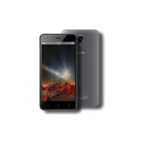 "FOUREL Easy Smart M3 Grigio 16 GB 4G / LTE Dual Sim Display 5"" HD Slot Micro SD Fotocamera 13 Mpx Android Italia"