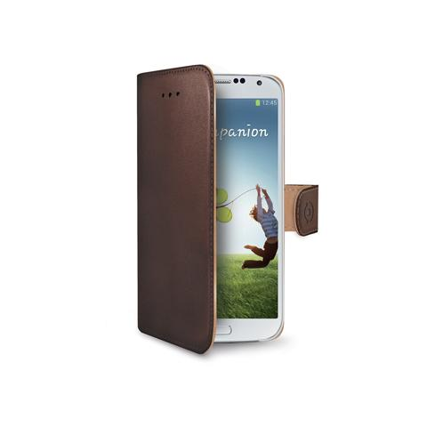 CELLY wally for galaxy s4 brown