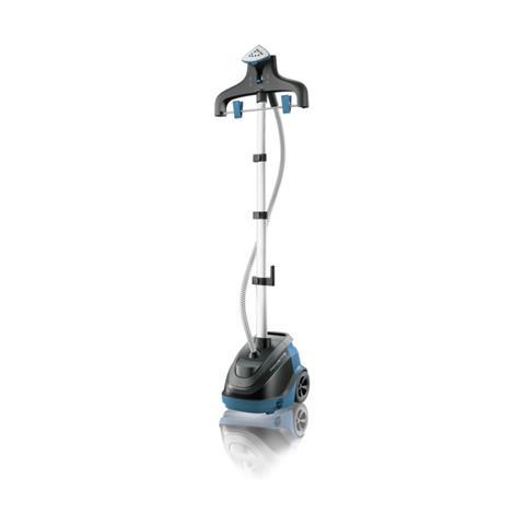 ROWENTA Stiratore Verticale IS6520 Master 360° Colore Nero e Blu