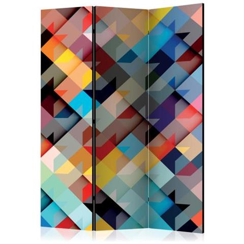 Image of Paravento Colour Patchwork Room Divider
