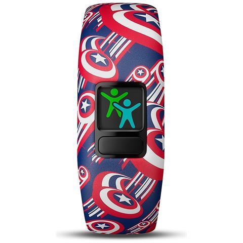 GARMIN Vivofit Junior 2 in Silicone Impermeabile Bluetooth Compatibile con iOS Android Contapassi Multicolor