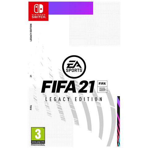 ELECTRONIC ARTS SWITCH - FIFA 21 Legacy Edition - Day One: 09/10/2020