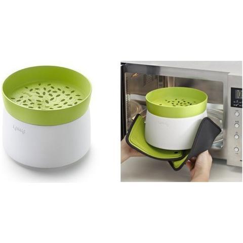 Lekué Cuociriso E Cereali Lekuè Accessorio Per Cuicinare Con Il Microonde Cuoci Riso