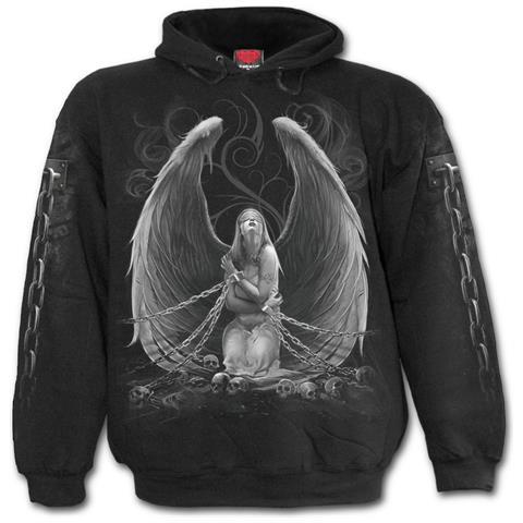 SPIRAL Captive Spirit - Black (Felpa Con Cappuccio Unisex Tg. XL)