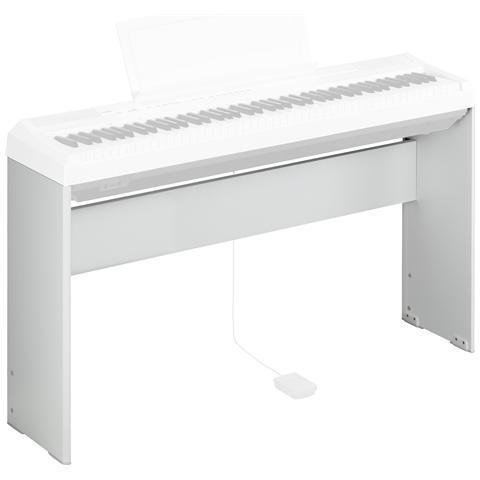YAMAHA Stand in Legno per Pianoforte Digitale L-85 Colore Bianco