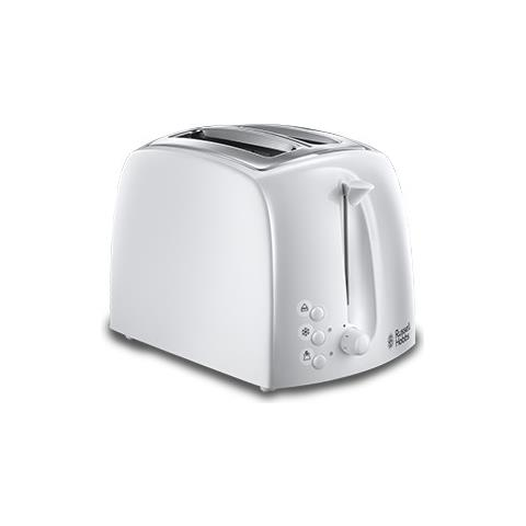 21640-56 Tostapane Textures 850 Watt Colore Bianco