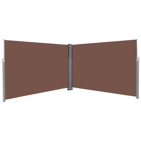 Tenda Da Sole Laterale Retrattile 200x600 Cm Marrone