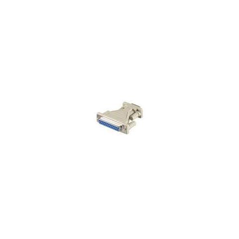 Microconnect ADA925F DB9 DB25 Bianco cavo di interfaccia e adattatore