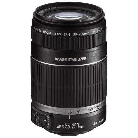Obiettivo 55-250 mm F / 4.5-5.6 IS STM Attacco Canon EF-S